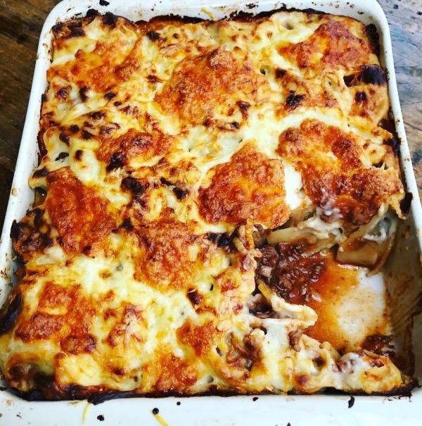Honeycomb Lasagne