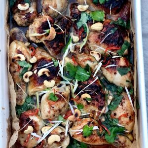 Honey and Soy Chicken One Tray