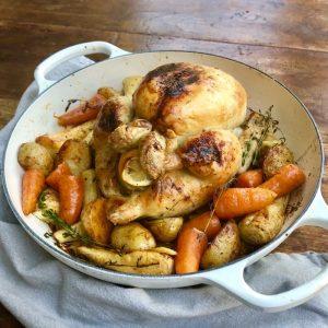 Maple One Tray Roast Chicken