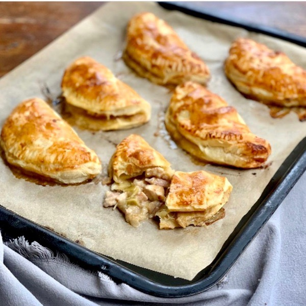 Chicken & Bacon Mini Pies