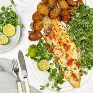Dover Sole with Chilli Lime Butter