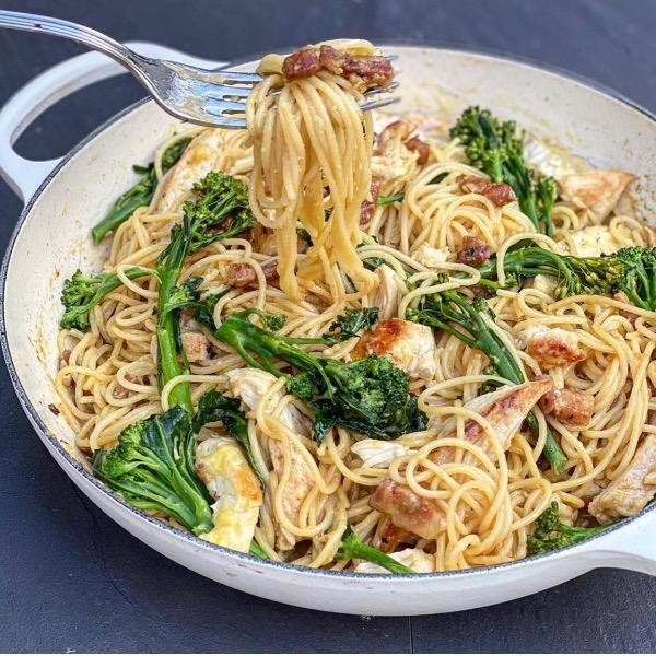 Chicken & Bacon Spaghetti Carbonara