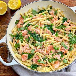 Speedy Salmon Pasta