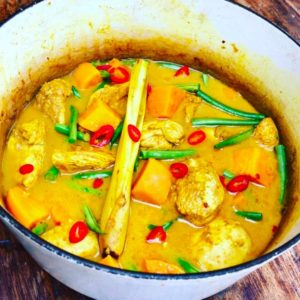 Vietnamese Chicken and Sweet Potato Curry