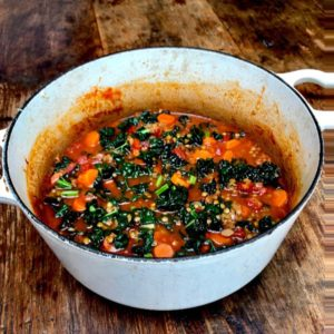 Hearty Cavolo Nero & Lentil Soup