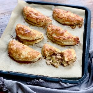 Chicken & Bacon Pie Foldovers