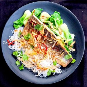 Asian Sizzling Sea Bass