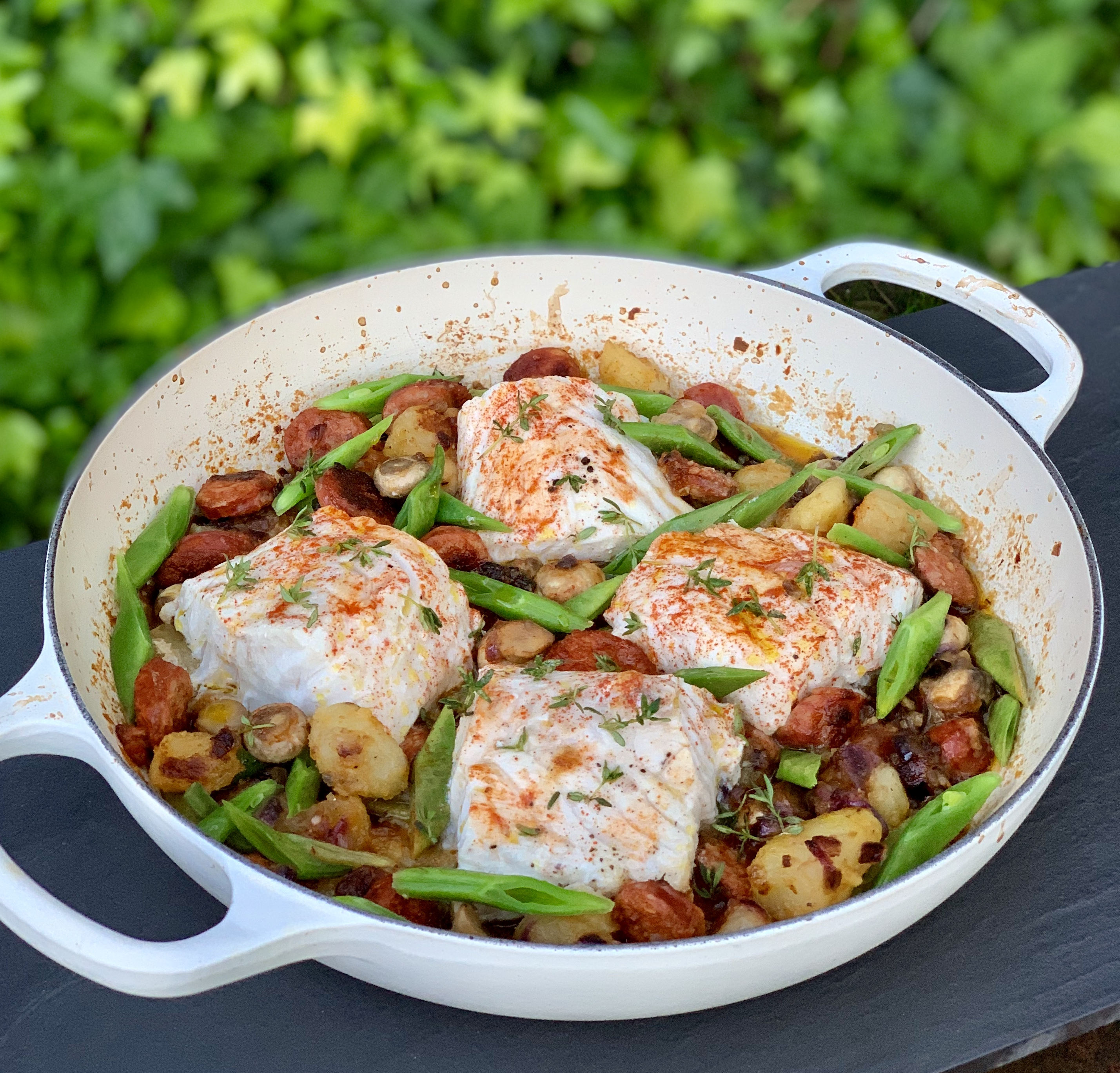 Cod & Chorizo One Pot