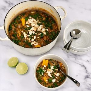 Spiced Thai Lentil Soup