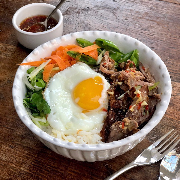 Duck Donburi