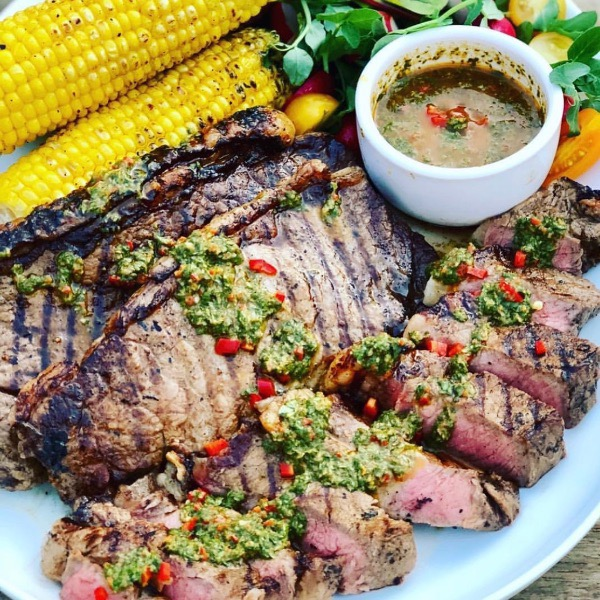 Chimichurri Steaks