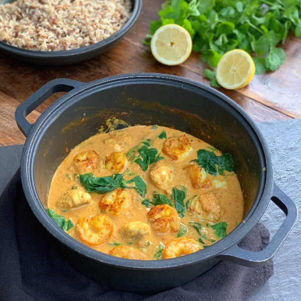 Monkfish and Prawn Curry