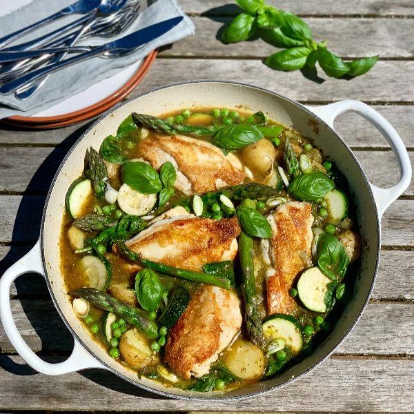 Spring Chicken One Pot