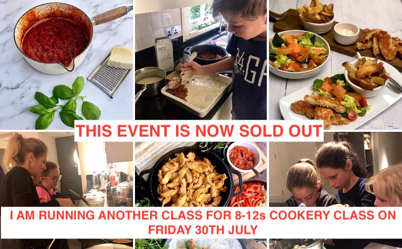 8-12s Cookery Masterclass