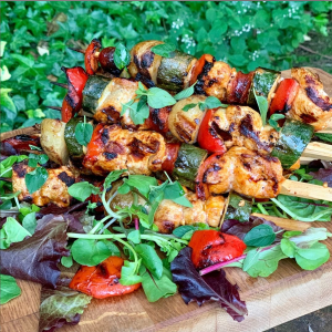 Spanish Chicken Kebabs