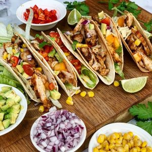 Mix and Match Chicken Tacos