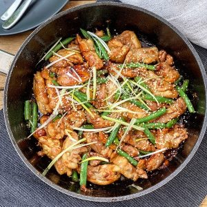 Sticky Asian Chicken
