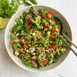 Tuna Ceviche & Bean Salad