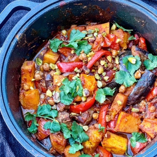 Moroccan Style Vegetable Tagine