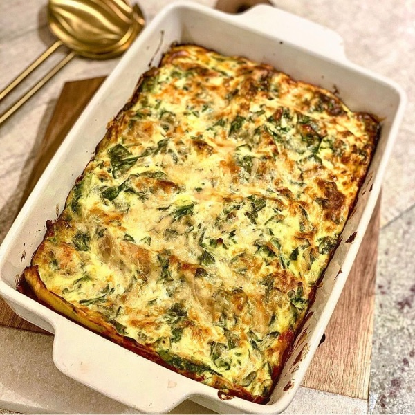 Vegetarian Ricotta & Spinach Lasagne